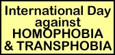 Giornata contro l'omofobia